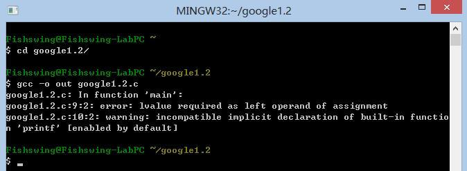 Google test 1.2